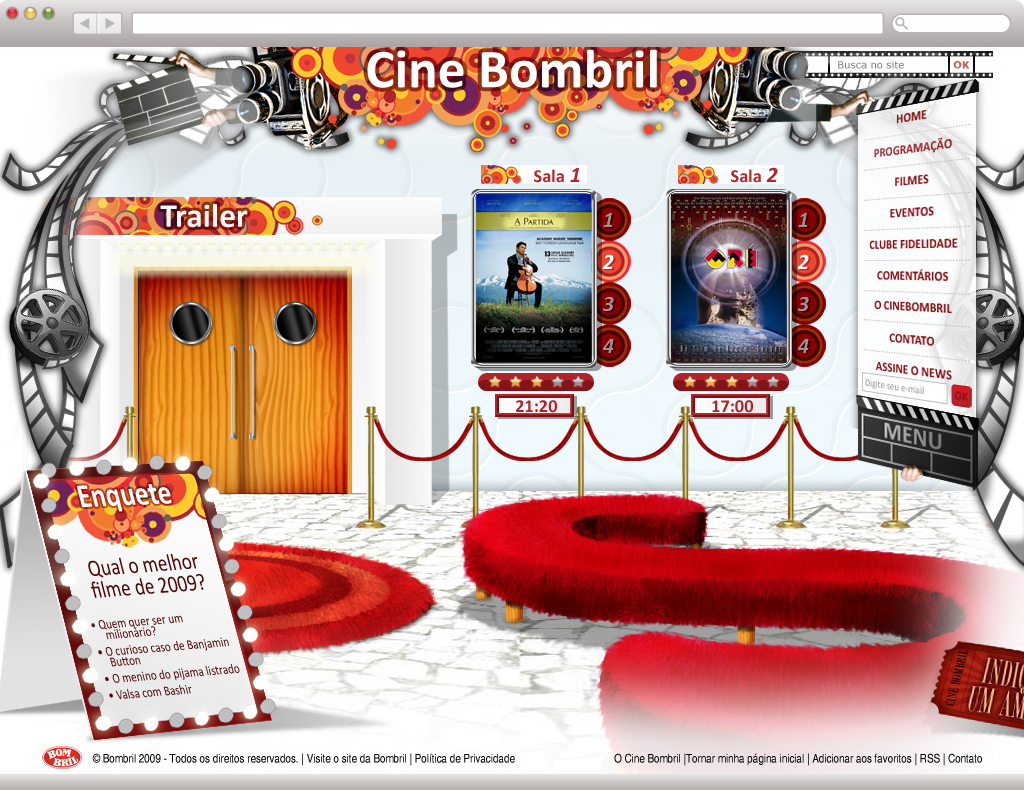 Cine Bombril - Home