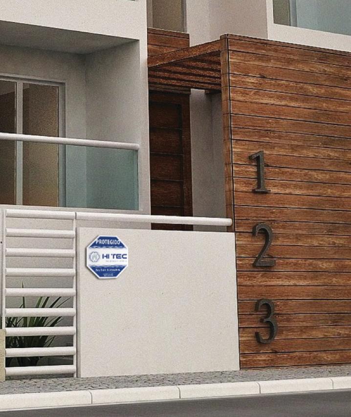 Sinalização residencial Hi Tec (aplicação) by Danilo Aroeira