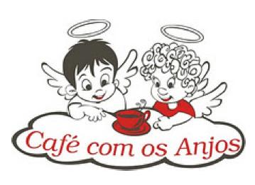 Logo antigo Café com os Anjos