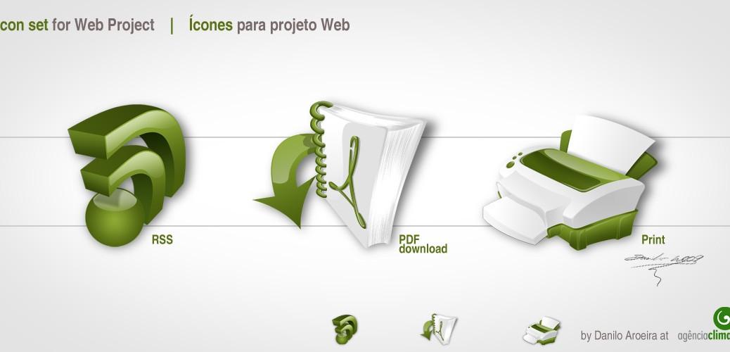 Ícones Web