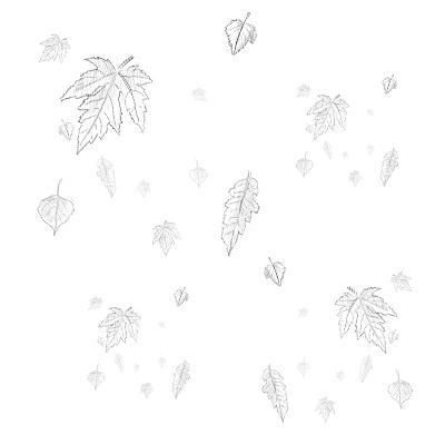 Esboço - folhas de outono, by Danilo Aroeira