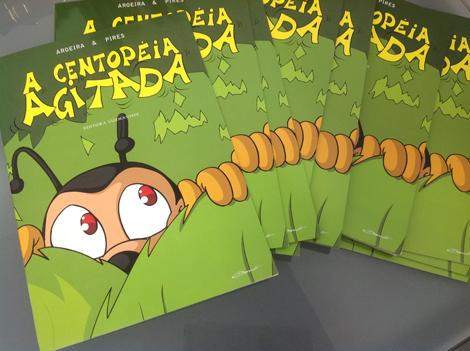"""Livro """"A Centopéia Agitada"""" - by Danilo Aroeira e Dilea Pires"""