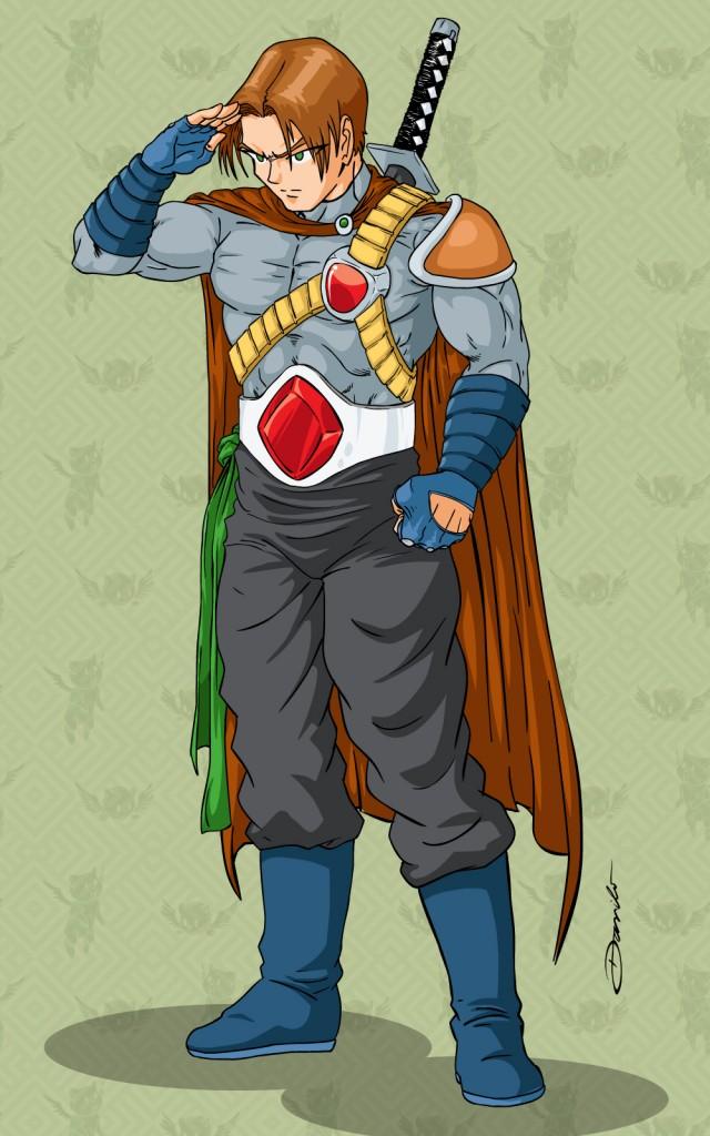 Guerreiro Anime - by Danilo Aroeira
