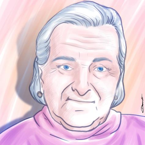 Paciente idosa - by Danilo Aroeira