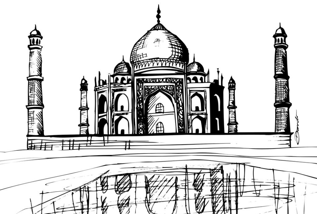 Taj Mahal, by Danilo Aroeira