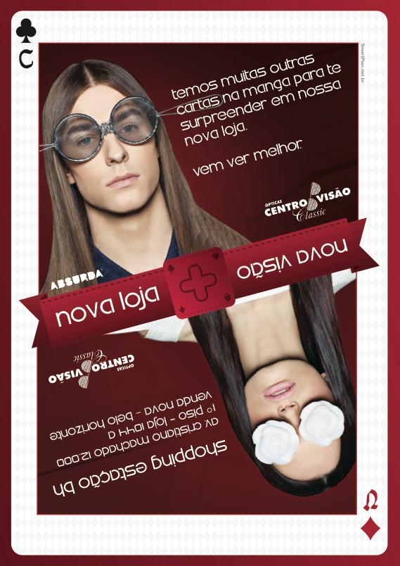 Campanha Nova Loja Centro Visão - Flyer (verso) by Danilo Aroeira