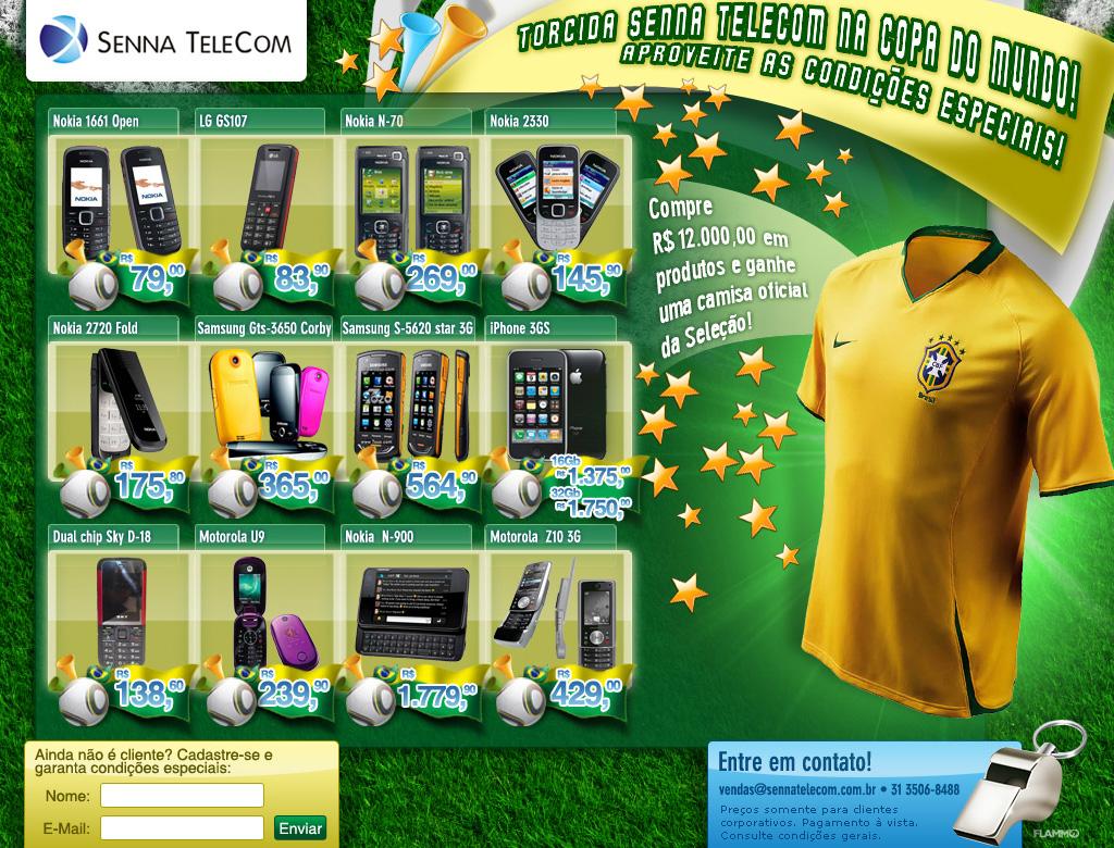 Senna Telecom Copa do Mundo by Danilo Aroeira
