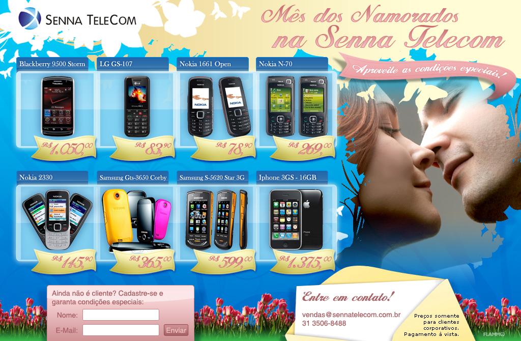 Senna Telecom Dia dos Namorados by Danilo Aroeira