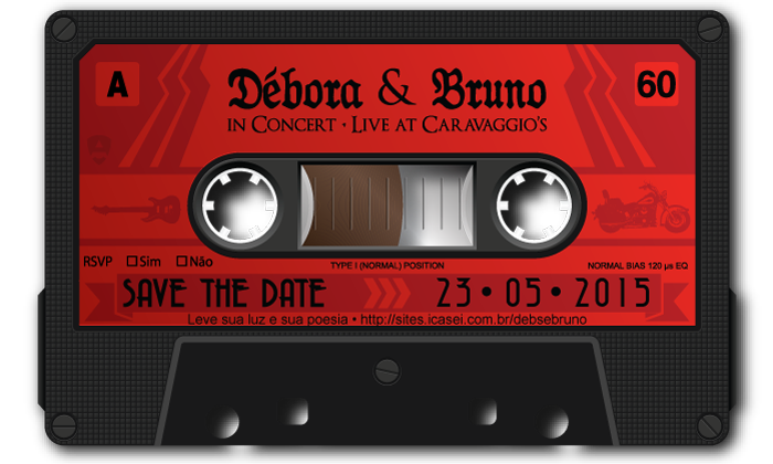Save the date - Débora e Bruno by Danilo Aroeira