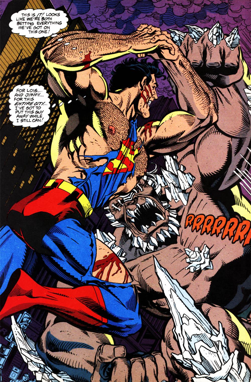 Super-Homem Vs. Apocalypse by Dan Jurgens - A Morte do Super-Homem [1992]