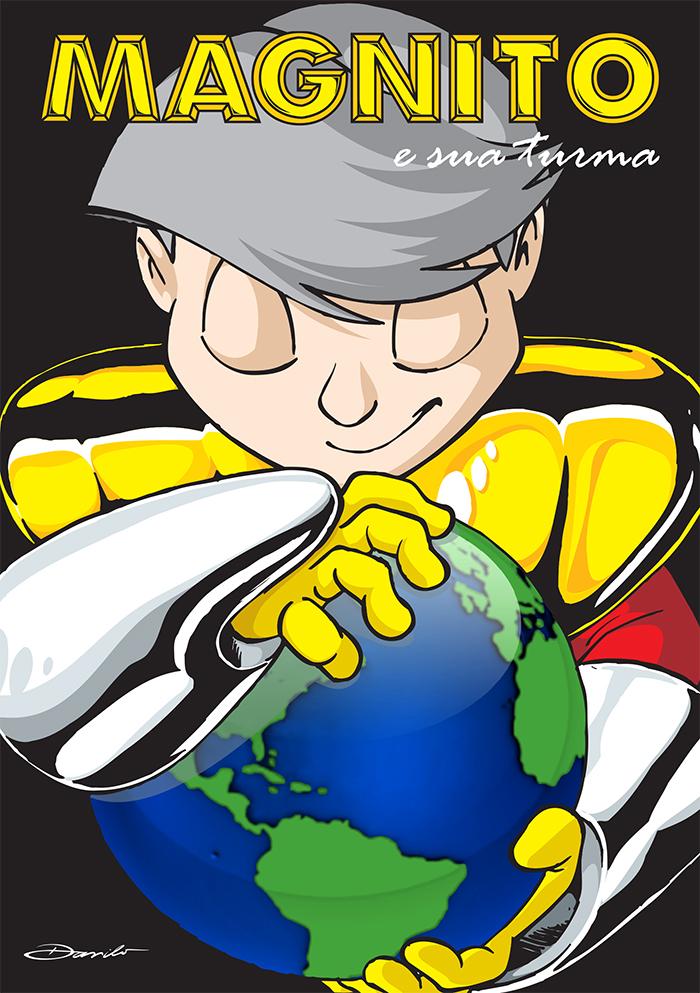 Magnito: Aquecimento Global - capa by Dan Arrows