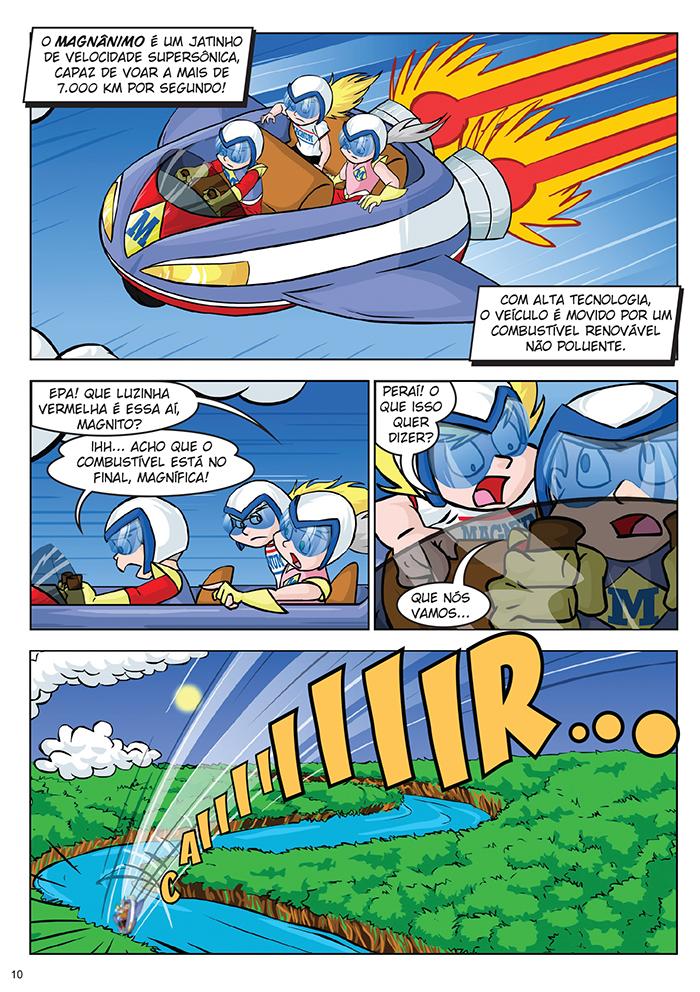 Magnito: Uma Aventura Amazônica. p.10 by Dan Arrows