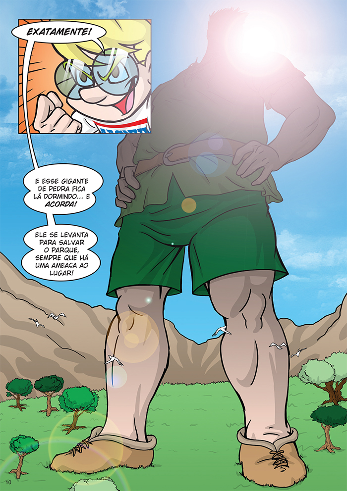 Magnito - O Gigante do Caraça. p.10 by Dan Arrows