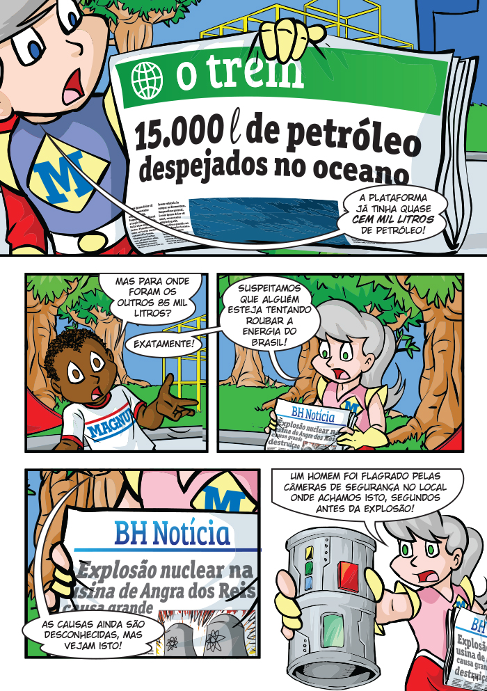 Magnito - A Maior Energia do Mundo. p.11 by Dan Arrows