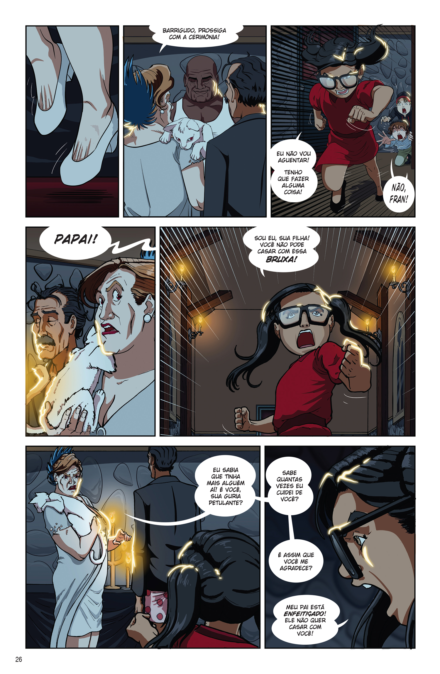 p.26 - Moleque: A Casa da Bruxa, by Marcos Pena & Dan Arrows