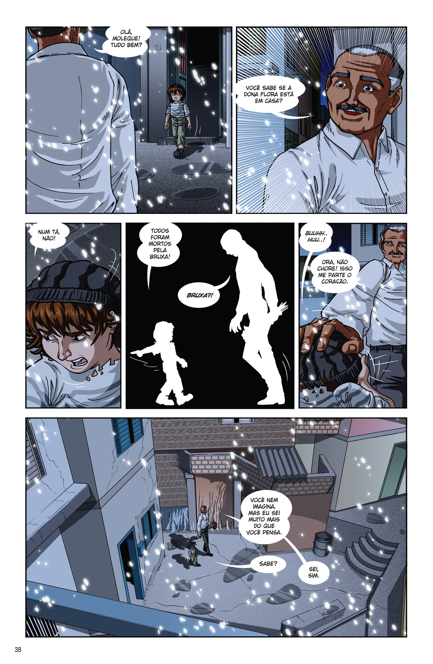 p.38 - Moleque: A Casa da Bruxa, by Marcos Pena & Dan Arrows
